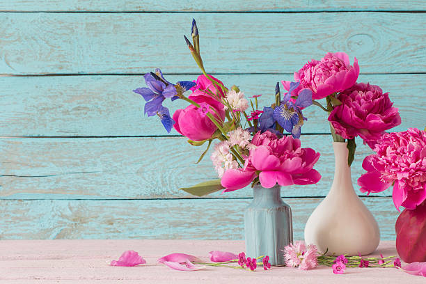 Royalty Free Iris Flowers In Vase Pictures Images And Stock Photos