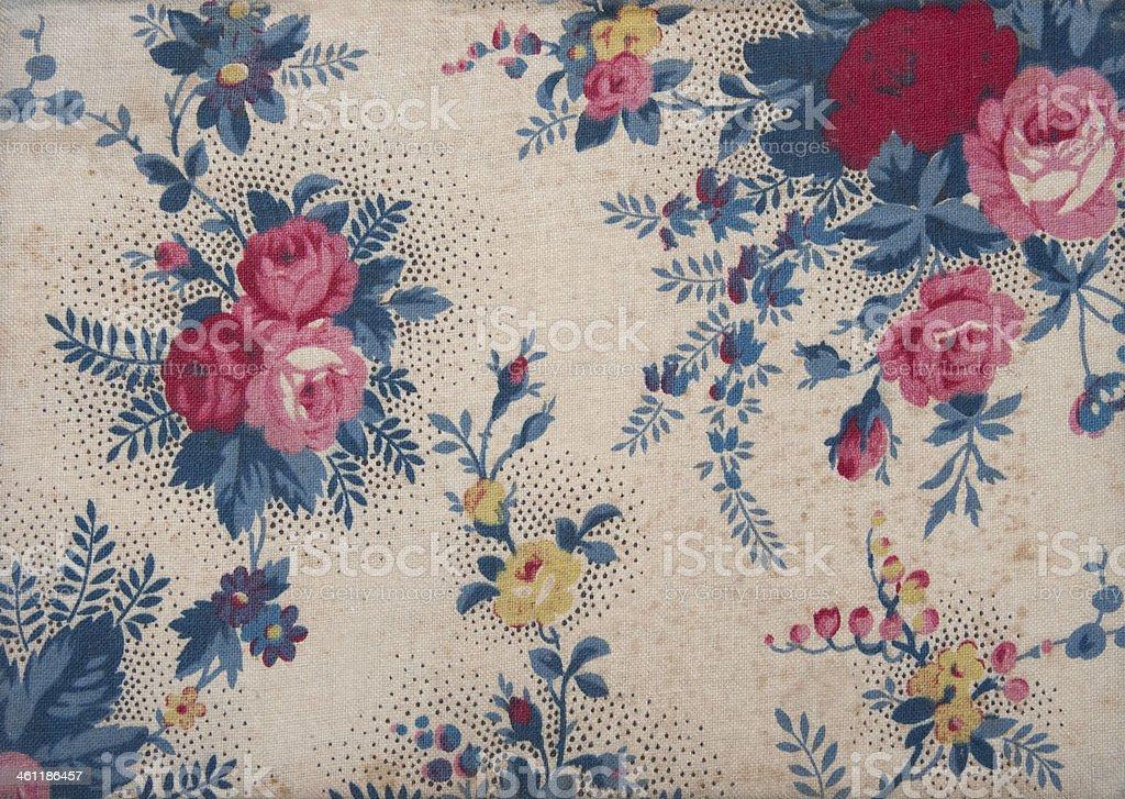 Blumen auf einer Wand-Textur – Foto