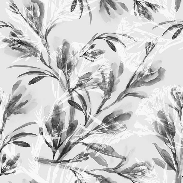 Blumen Nahtlose Muster  – Foto