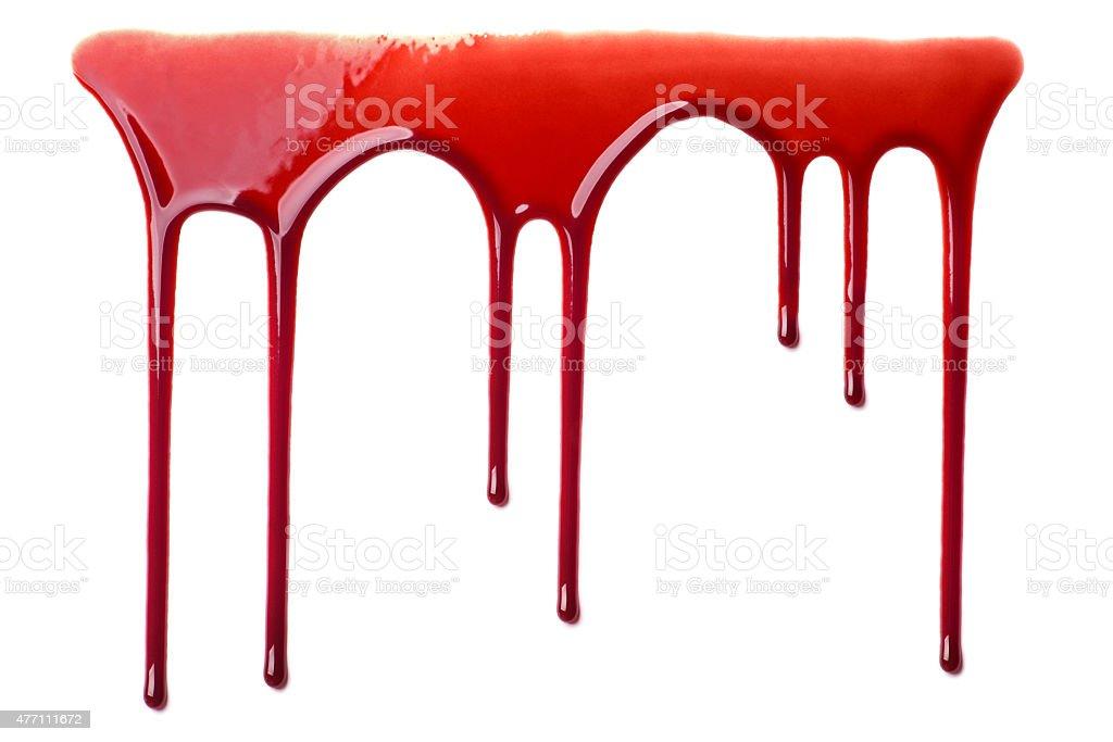 Flusso di sangue - foto stock