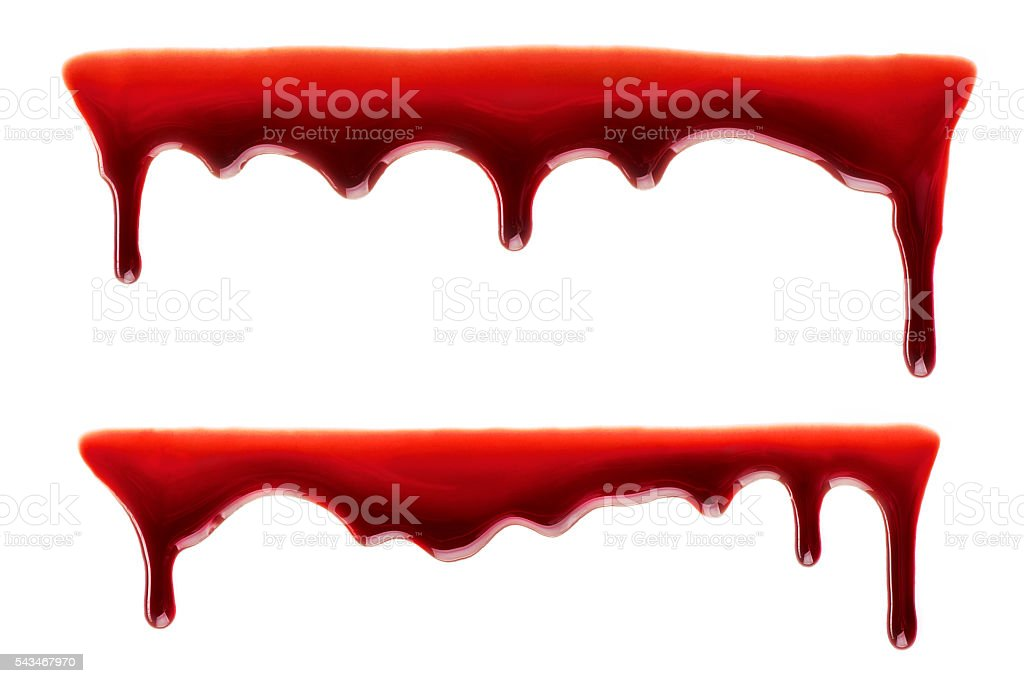 Flowing Blood stock photo
