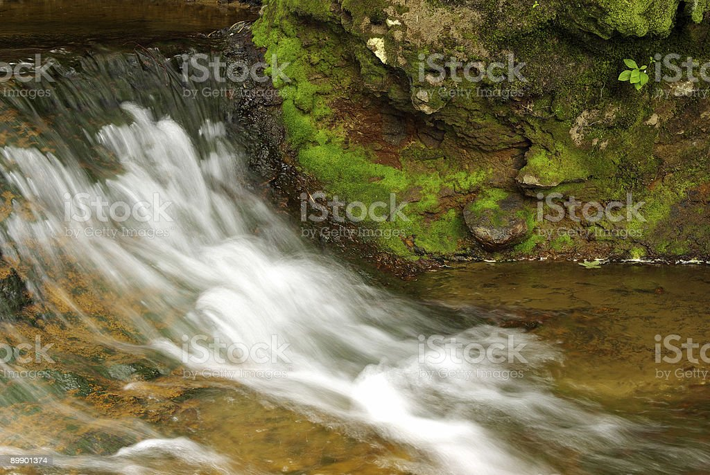 Flowing royalty-free stock photo