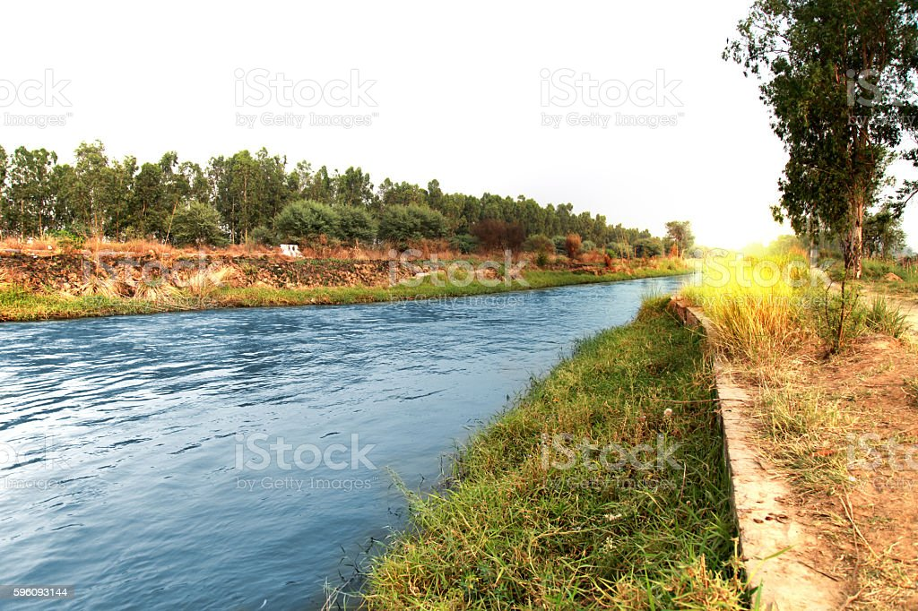 Flowing River royalty-free stock photo
