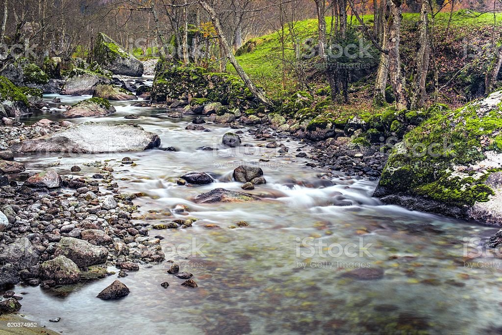 Rio corrente foto de stock royalty-free