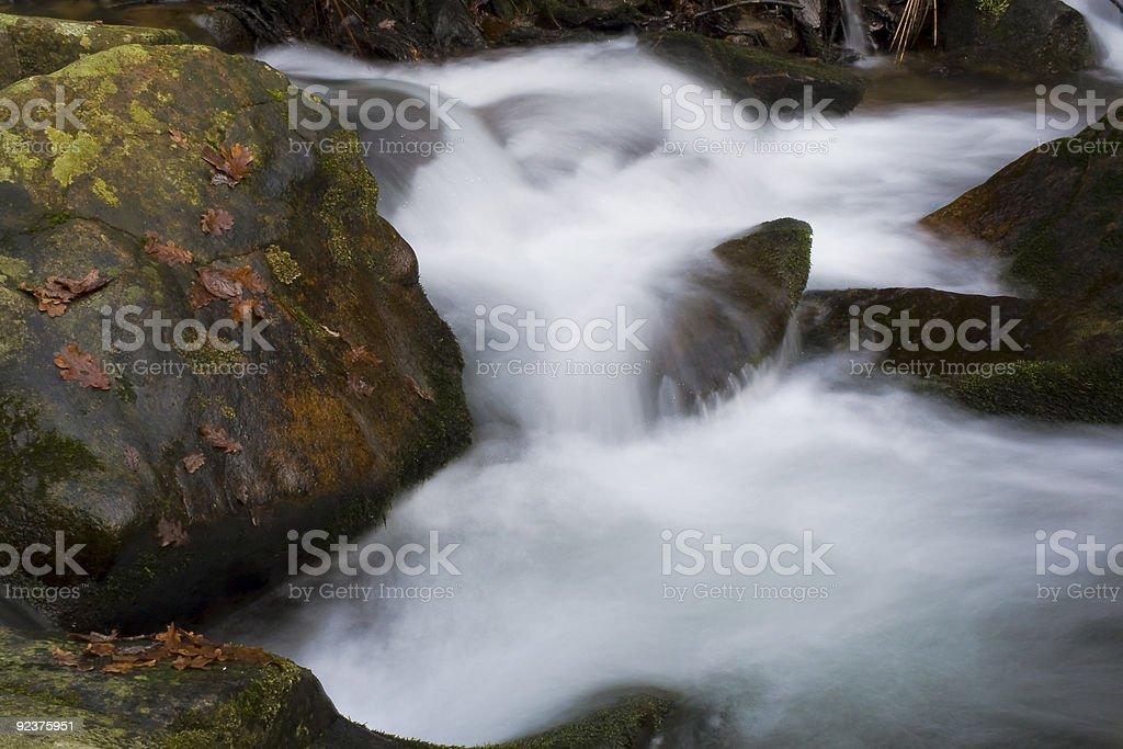 Fließendes Wasser Lizenzfreies stock-foto