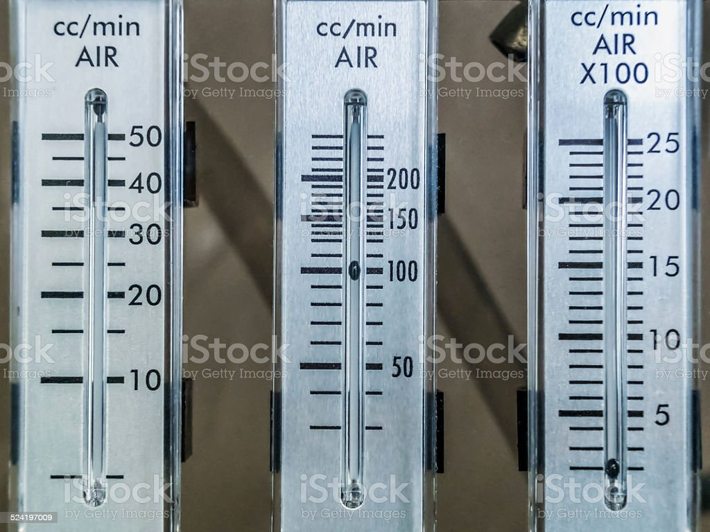 Flowmeter stock photo