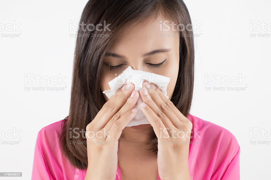 Flu cold stock photo