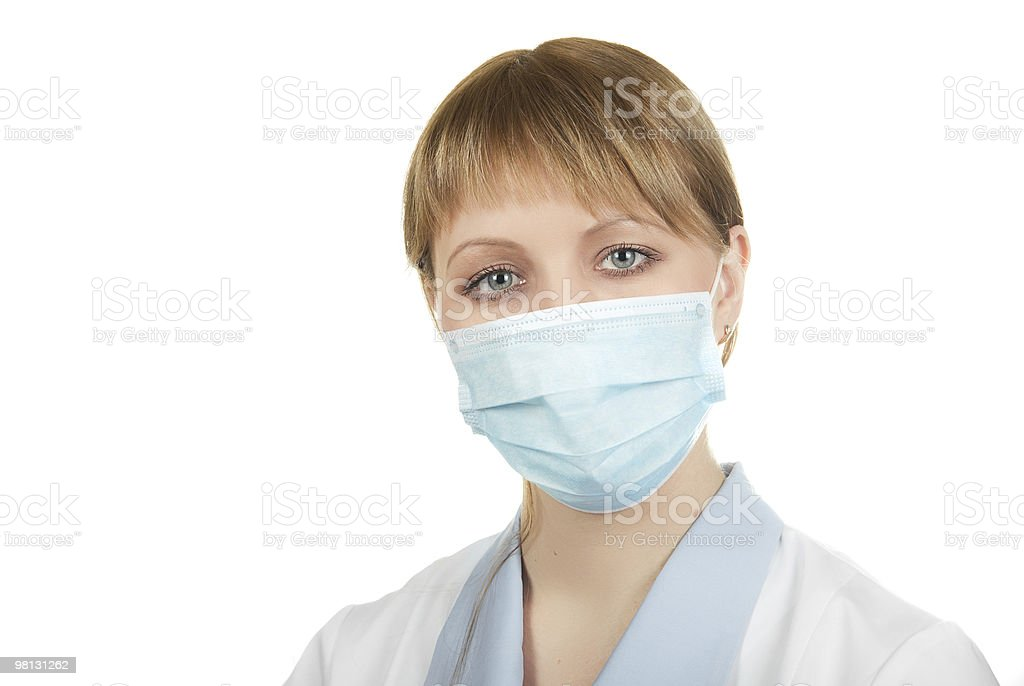 Flu epidemic royalty-free stock photo