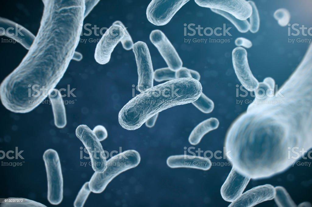 H3N3 インフルエンザ細菌 ロイヤリティフリーストックフォト