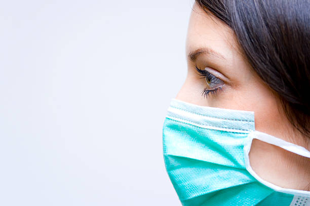 Grippeschutzmaske! – Foto