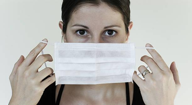 mascherina sterile - febbre russa foto e immagini stock