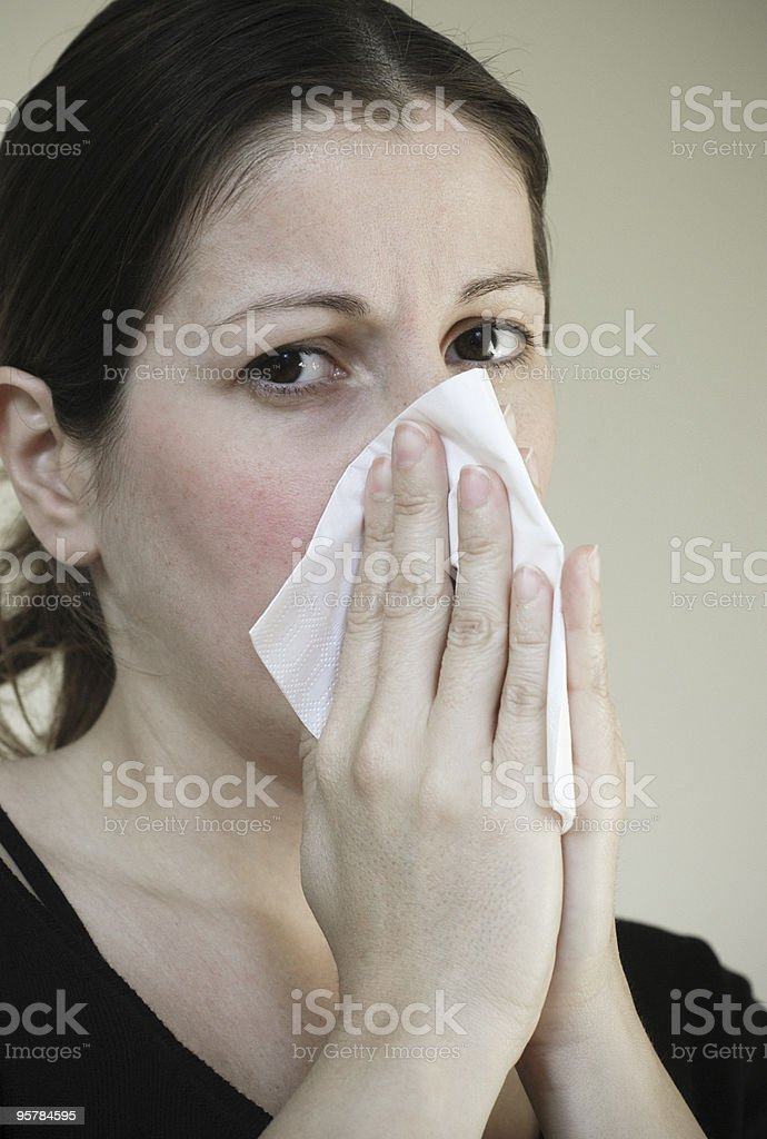 flu royalty-free stock photo