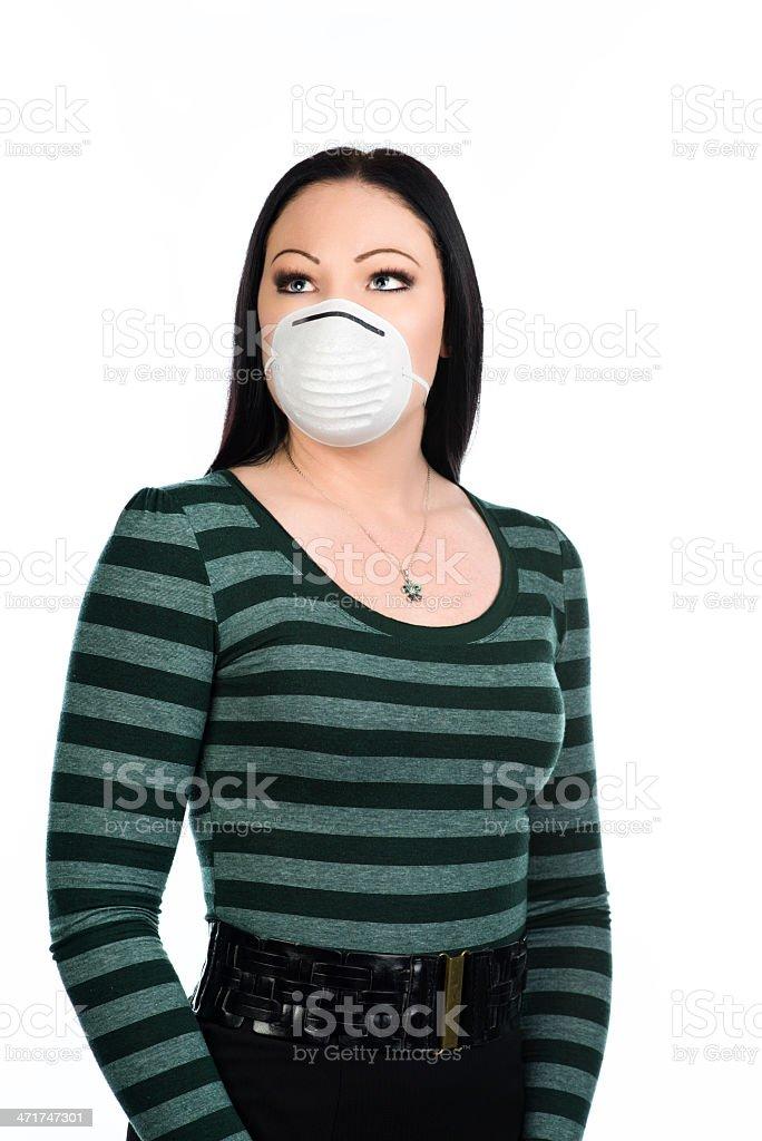Flu prevention royalty-free stock photo