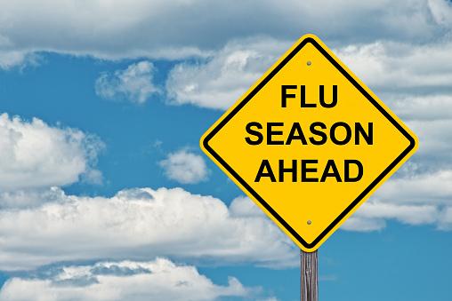 インフルエンザ シーズン前の警告サイン - アメリカ合衆国のストックフォトや画像を多数ご用意