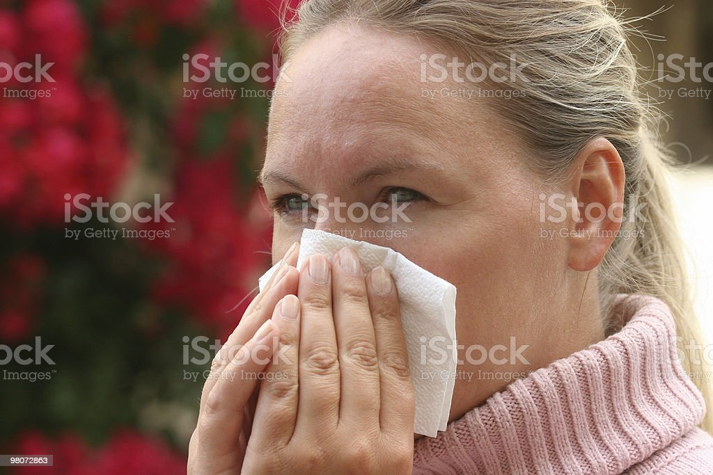 Flu Virus royalty-free stock photo