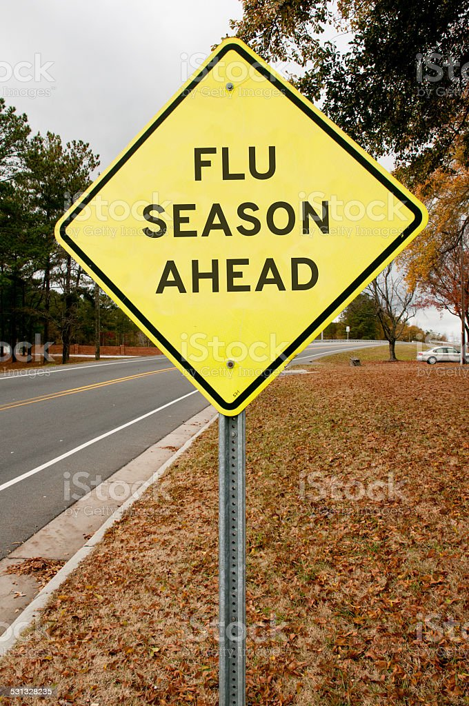 Flue Season Ahead royalty-free stock photo