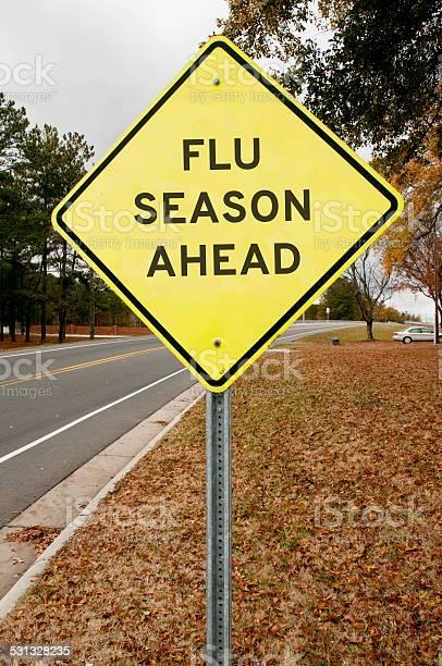 Flue Season Ahead Stock Photo - Download Image Now
