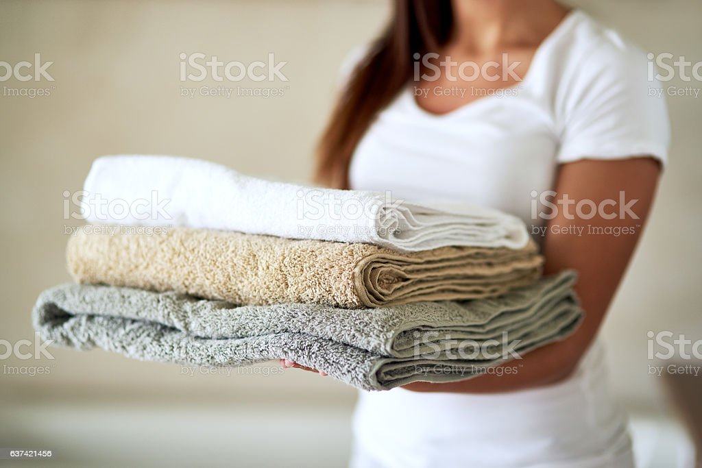 Fluffy comforts stock photo