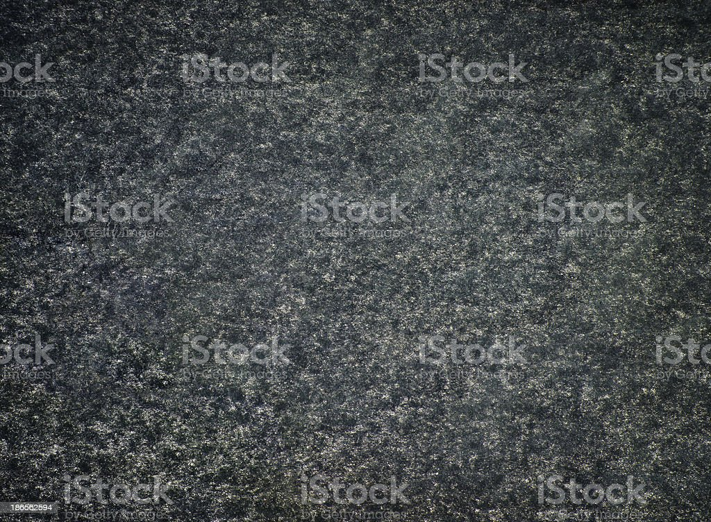 Fluffy Noisy Black and Green Fabric Texture with Grunge Style royalty-free stock photo