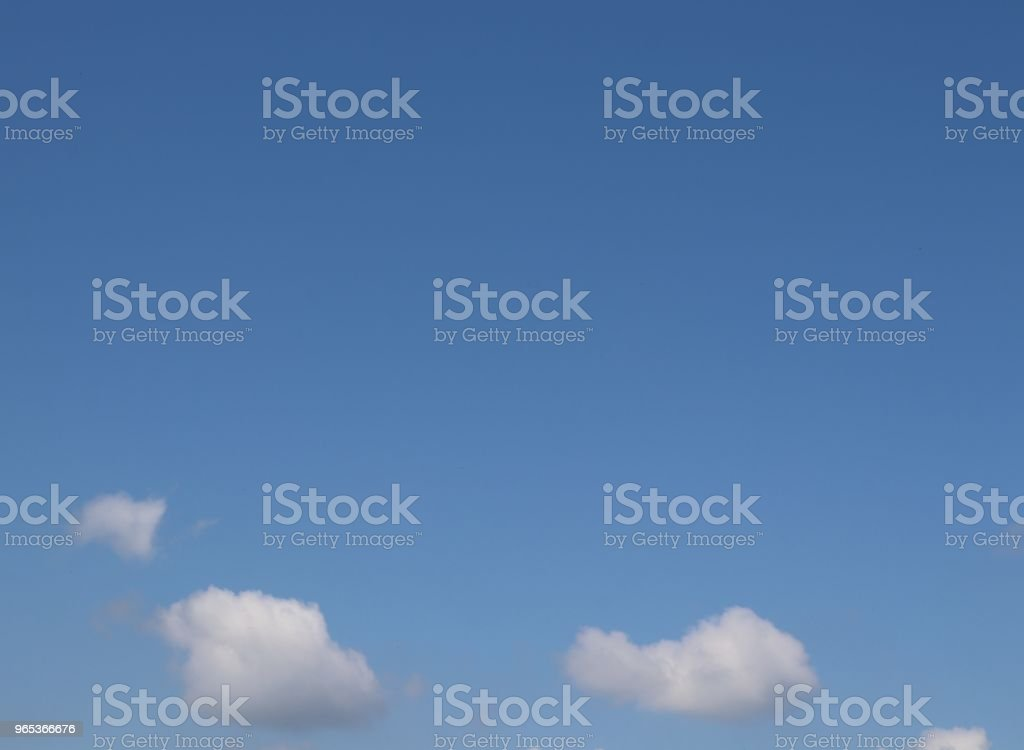 Fluffy white clouds, full frame cloudscape, copy space royalty-free stock photo