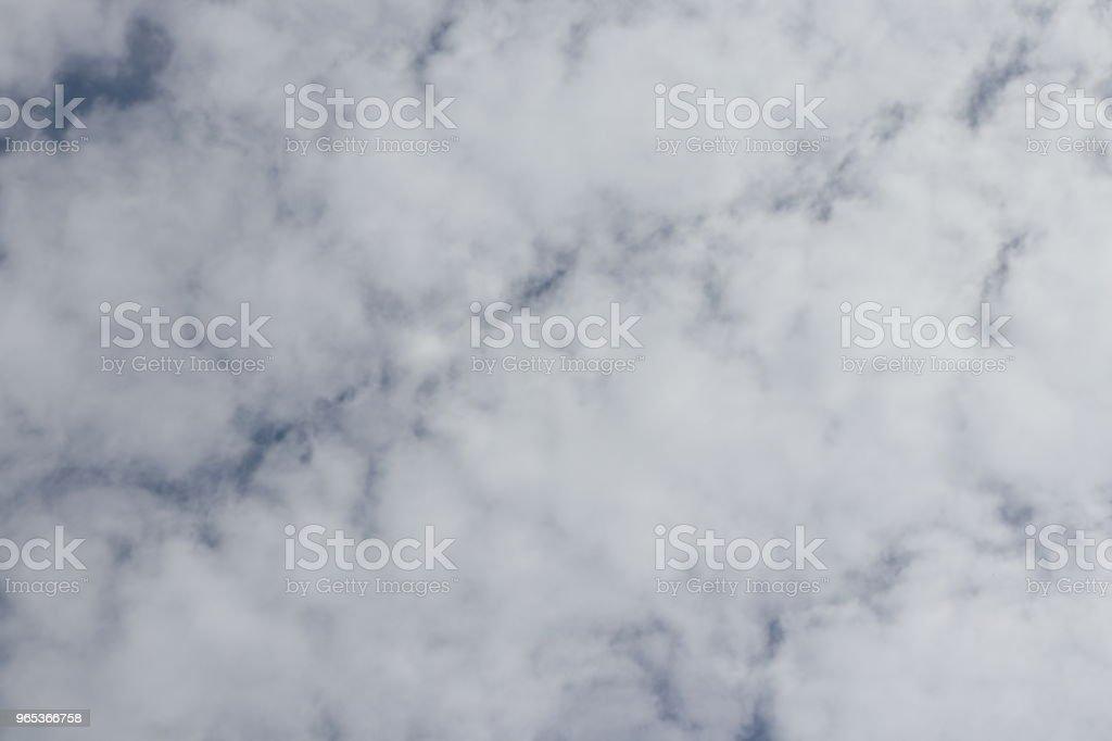 Fluffy white clouds, full frame cloudscape zbiór zdjęć royalty-free