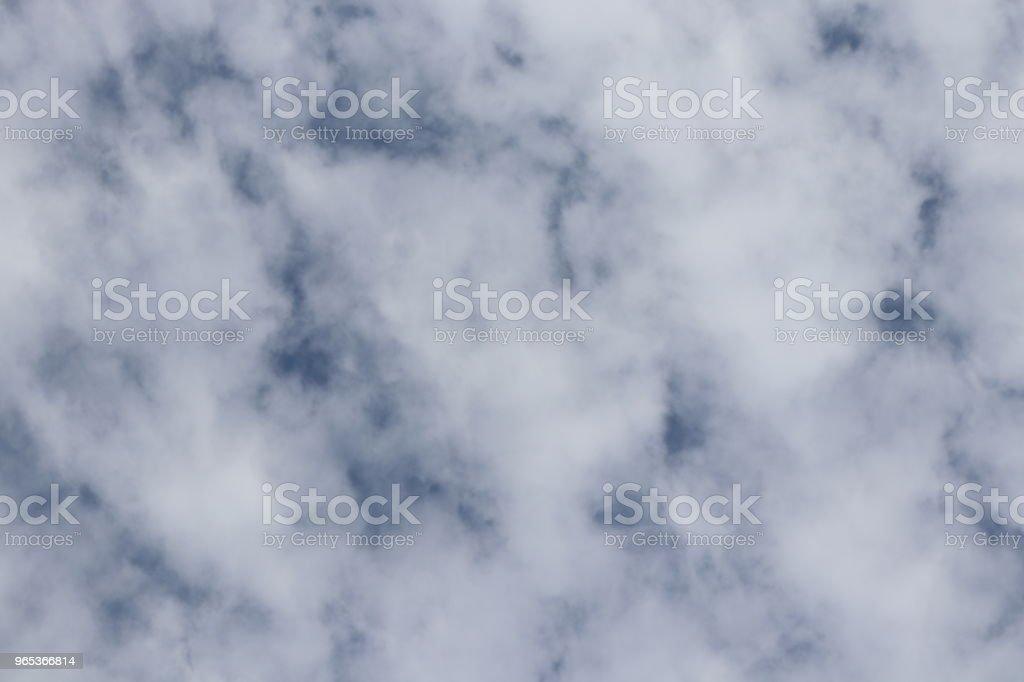 무성 한 흰 구름, cloudscape 풀 프레임 - 로열티 프리 0명 스톡 사진
