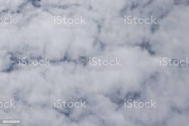 Puszyste Białe Chmury Pełna Ramka Cloudscape - zdjęcia stockowe i więcej obrazów Bez ludzi