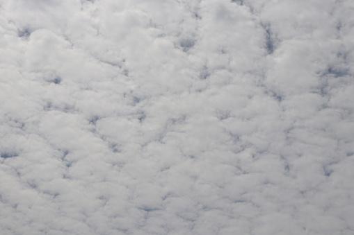 Photo libre de droit de Nuages Blancs Pelucheux Cloudscape Plein Cadre banque d'images et plus d'images libres de droit de {top keyword}