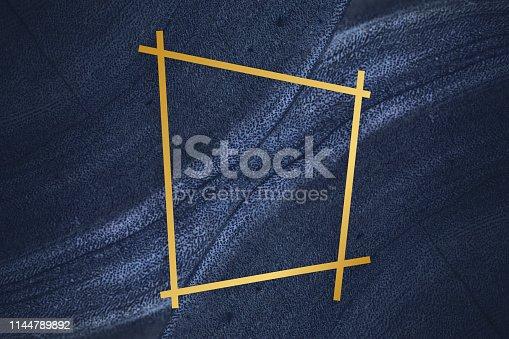 istock Fluid design backdrop frame 1144789892