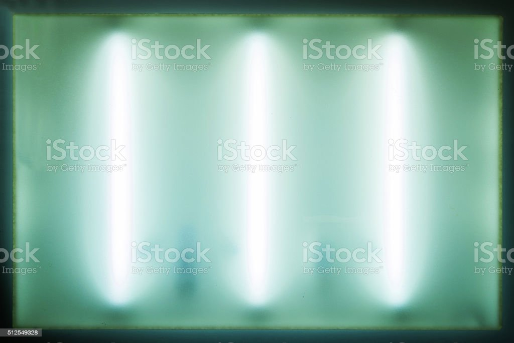 Fluorescent in architecture draft table background stock photo