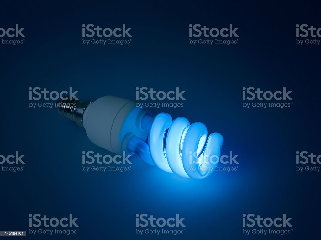 Fluorescent lamp for designers idea royalty-free stock photo
