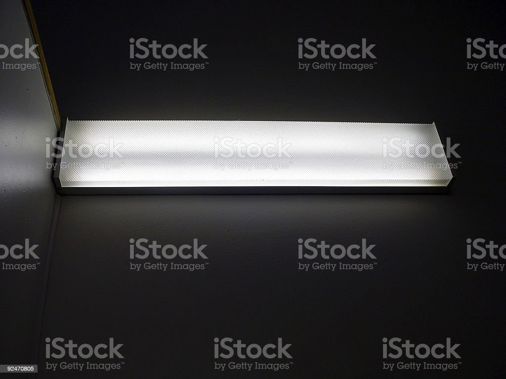 Fluorescent light royalty-free stock photo