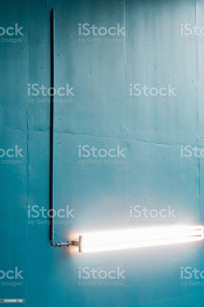Fluorescent tube royalty-free stock photo