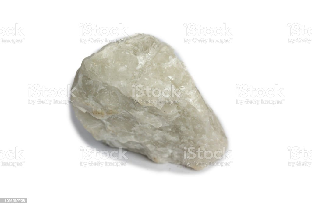 fluorite stone mineral crystal sample for science and geology stock photo