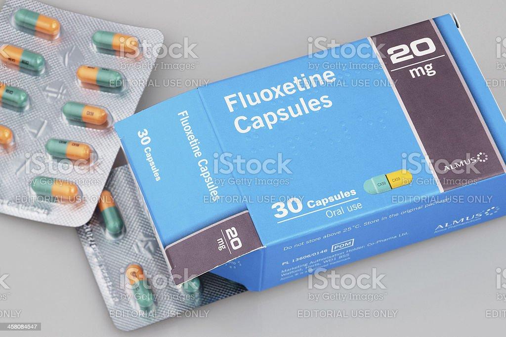 Fluoxetine stock photo