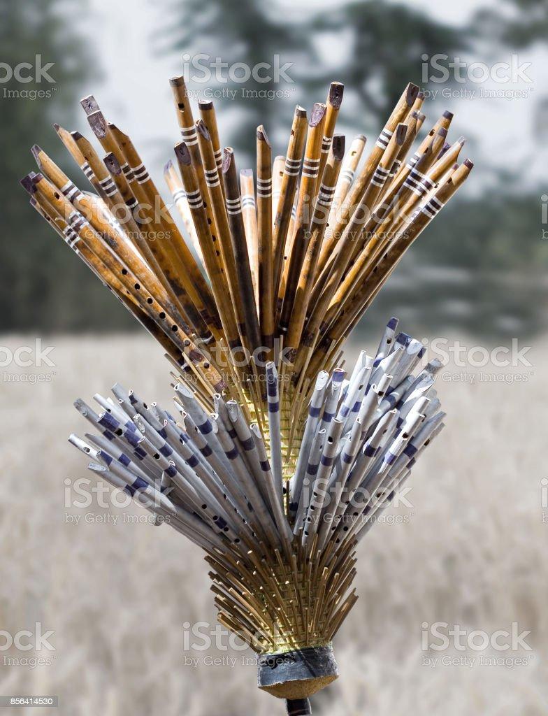 flutes stock photo