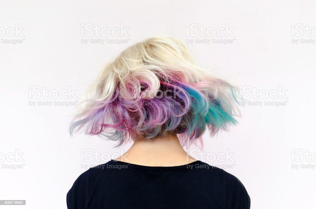 Esvoaçantes cabelos foto royalty-free