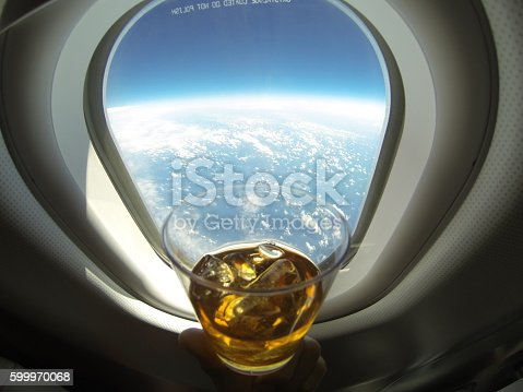 istock Fly Around The Globe 599970068
