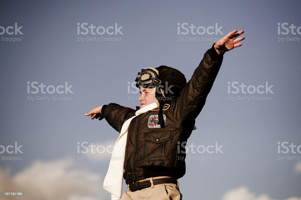 Fly Away royalty-free stock photo