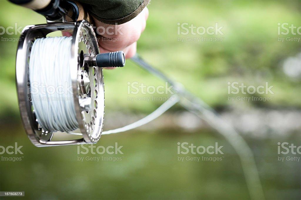 Fly Fishing Abstract stock photo