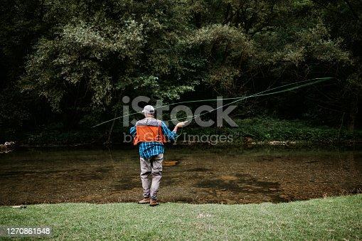 istock Fly Fishing 1270861548