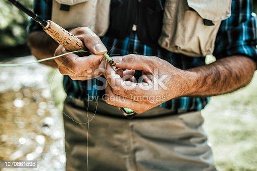 istock Fly Fishing 1270861595