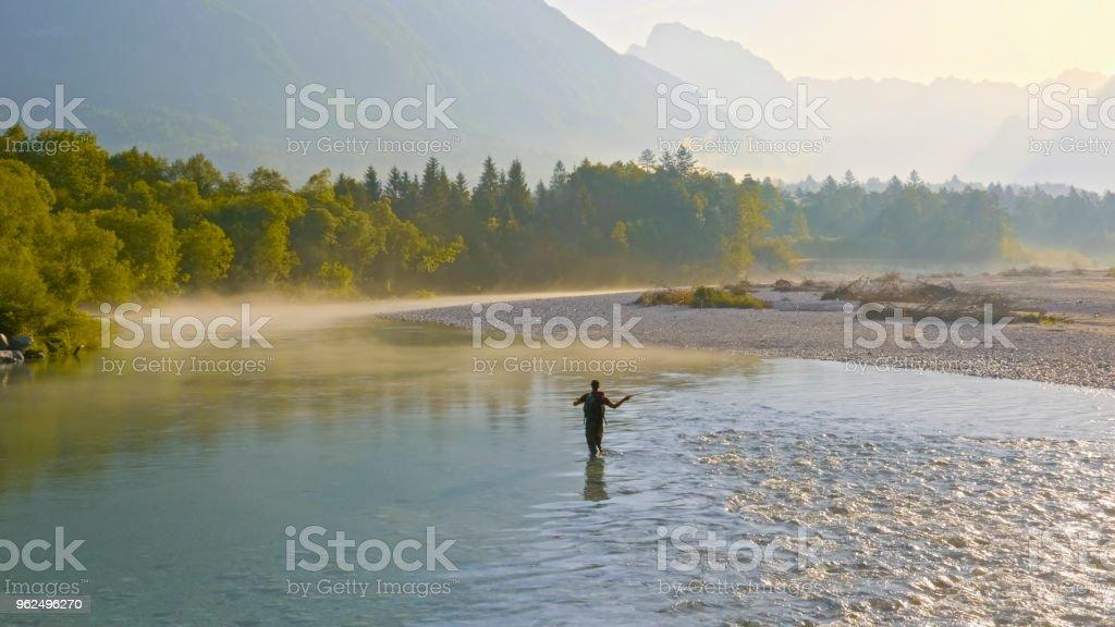 Pesca com mosca - Foto de stock de 35-39 Anos royalty-free