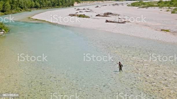 Foto de Pesca Com Mosca e mais fotos de stock de 35-39 Anos