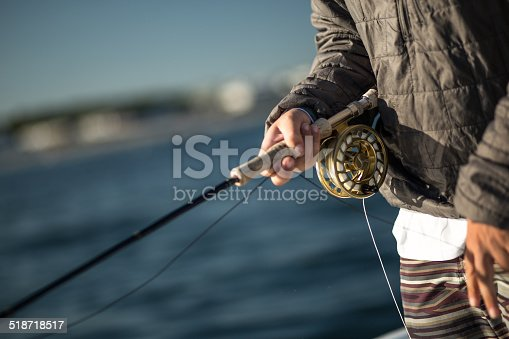 istock Fly Fishing Rod 518718517