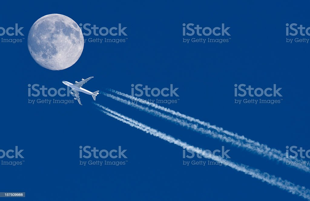 Fly Me To The Moon... royalty-free stock photo