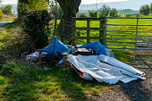 istock Fly Tipping by the Farmers Gate 1194556283