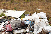 istock Fly Tipping on Wasteland 1196243561