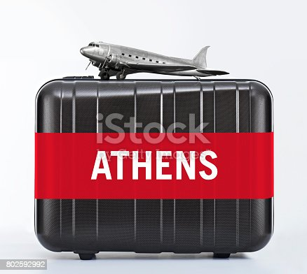 istock Fly to Athens 802592992