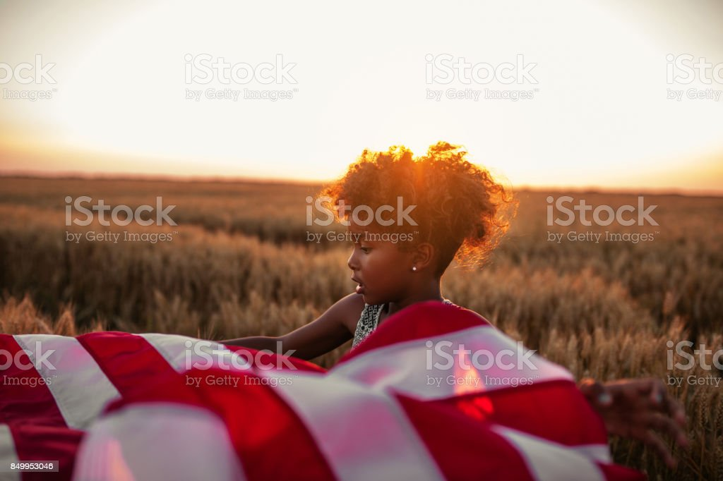 Fly your flag with pride stock photo